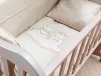 Εικόνα της Nek Baby Σετ 6τμχ. προίκα κρεβατιού ΓΚΟΛΝΤΕΝ ΠΡΙΝΣ