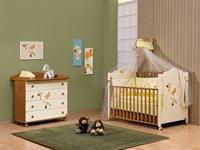 Εικόνα της Nek Baby Σετ 6τμχ. προίκα κρεβατιού Baby Zebra - Λαχανί