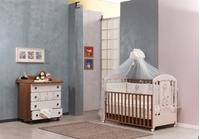 Εικόνα της Nek Baby Σετ 6τμχ. προίκα κρεβατιού Girafe