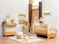 Εικόνα της Nek Baby Σετ 3τμχ. προίκα κρεβατιού Ζούγκλα