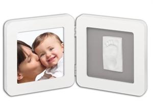 Εικόνα της Baby Art Κορνίζα Print Frame Λευκή Γκρι