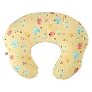 Εικόνα της Bright Starts Μαξιλάρι Θηλασμού Mombo in Hoppi Haze Κίτρινο