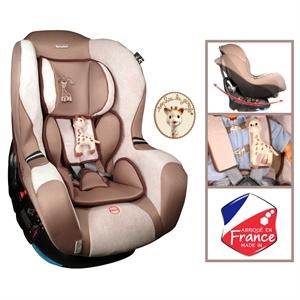 Εικόνα της Renolux Κάθισμα Αυτοκινήτου με την Σόφη την Καμηλοπάρδαλη Stream 0 - 18 kg.