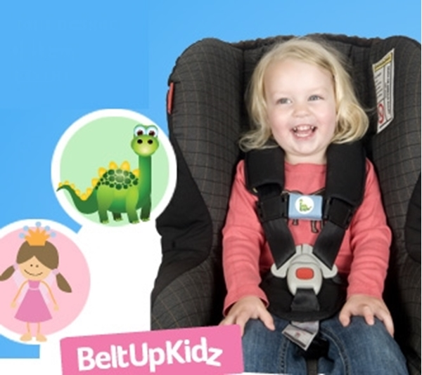 Picture of Belt Up Kidz - Για να μην βγάζει τα χεράκια από τις ζώνες - DINO