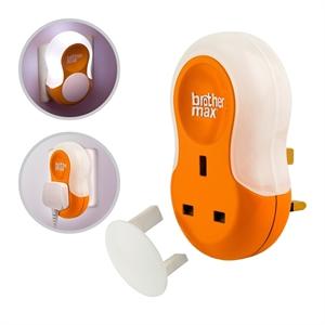 Εικόνα της  Brother Max Λάμπα Νυχτός Dual Purpose Plug-in