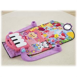 Εικόνα της Fisher Price Γυμναστήριο Μουσικό Πιανάκι Ροζ #BLN02