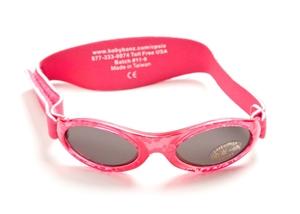 Εικόνα της Baby BanZ Γυαλιά Ηλίου Fuschia Red 1001-027