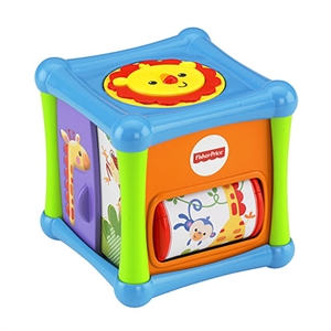 Picture of Fisher Price Κύβος Δραστηριοτήτων με Ζωάκια #BFH80