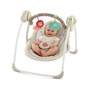 Εικόνα της Bright Starts Ρηλάξ  Portable Swing in Cozy Kingdom™