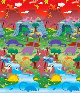 Εικόνα της Prince Lionheart Χαλί Παιχνιδιού City/Dino, 2 Όψεων