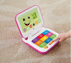 Picture of Fisher Price Εκπαιδευτικό Laptop Ροζ #CGH61