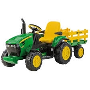 Picture of Peg Perego Ηλεκτροκίνητο JD Ground Force W/Trailer 12V