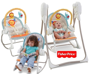 Picture of Fisher Price - Κούνια 3 σε 1 #BFH07