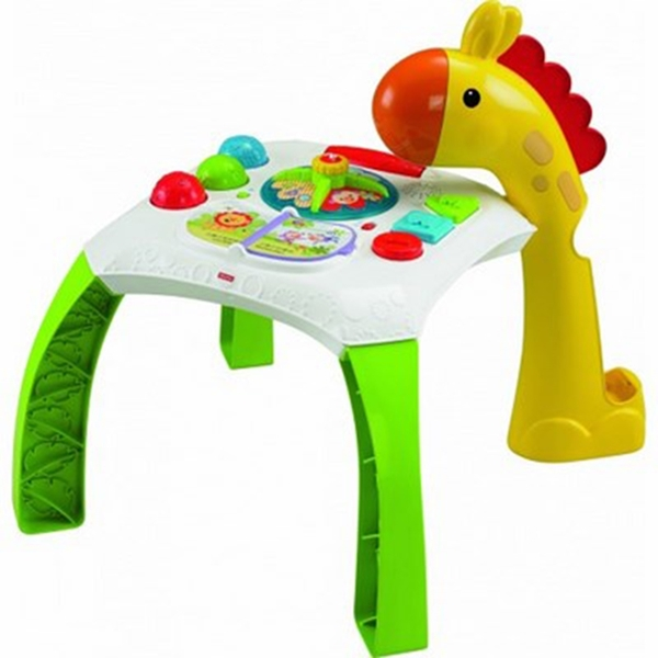 Picture of Fisher Price Τραπεζάκι Δραστηριοτήτων - Χαρούμενα Ζωάκια #CCP66