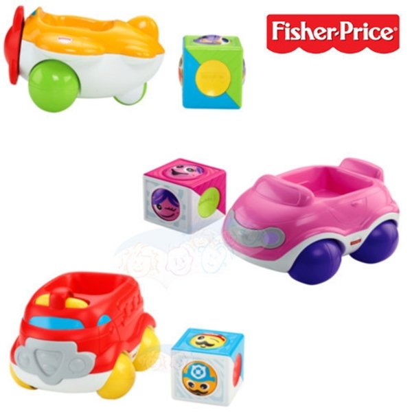 Picture of Fisher Price Roller Blocks Αυτοκινητάκια Με Κύβους Δραστηριοτήτων #CDV89