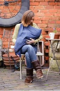 Εικόνα της Prince Lionheart Μαντήλι Θηλασμού Mamascarf Μπλε