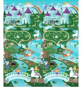 Εικόνα της Prince Lionheart Χαλί Παιχνιδιού City/Fantasyland 2 Όψεων