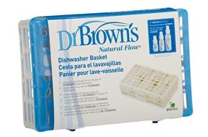 Εικόνα της Dr. Brown's Καλάθι Πλυσίματος Μπιμπερό με Φαρδύ Λαιμό