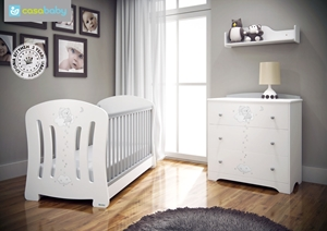 Εικόνα της CasaBaby Παιδικό Κρεβάτι Joel