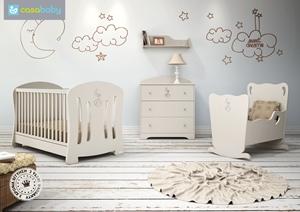 Εικόνα της CasaBaby Παιδικό Κρεβάτι Joel Crystal