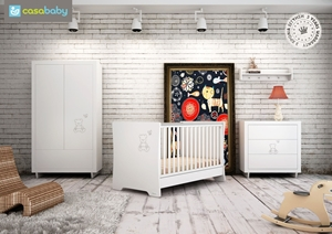 Picture of CasaBaby Παιδικό Κρεβάτι Teddy Crystal