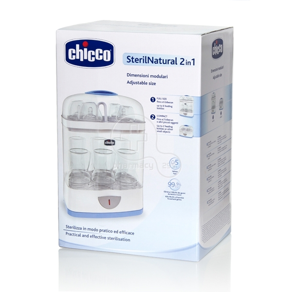Picture of Chicco Νέος Αποστειρωτής SterilNatural  2 σε 1