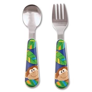 Εικόνα της Σετ Κουτάλι και Πιρούνι Stephen Joseph - Μαϊμού