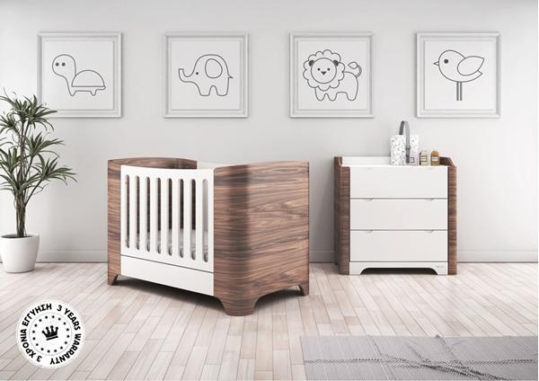 Picture of CasaBaby Παιδικό Κρεβάτι Harmony