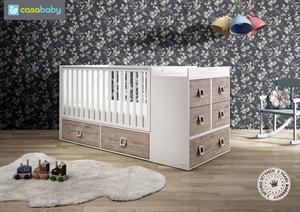 Εικόνα της CasaBaby Παιδικό Κρεβάτι Modular Naturale