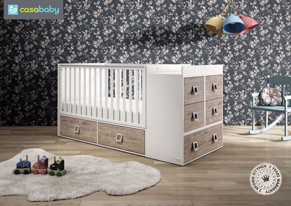 Picture of CasaBaby Παιδικό Κρεβάτι Modular Naturale