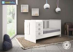 Εικόνα της CasaBaby Παιδικό Κρεβάτι Combinato Crystal