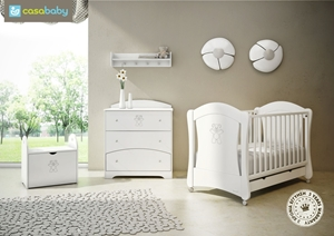 Εικόνα της CasaBaby Παιδικό Κρεβάτι Ydra Crystal