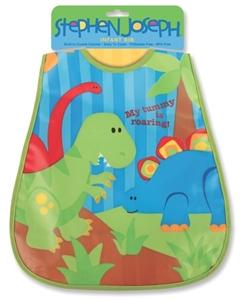 Εικόνα της Παιδική Σαλιάρα Stephen Joseph - Δεινόσαυρος