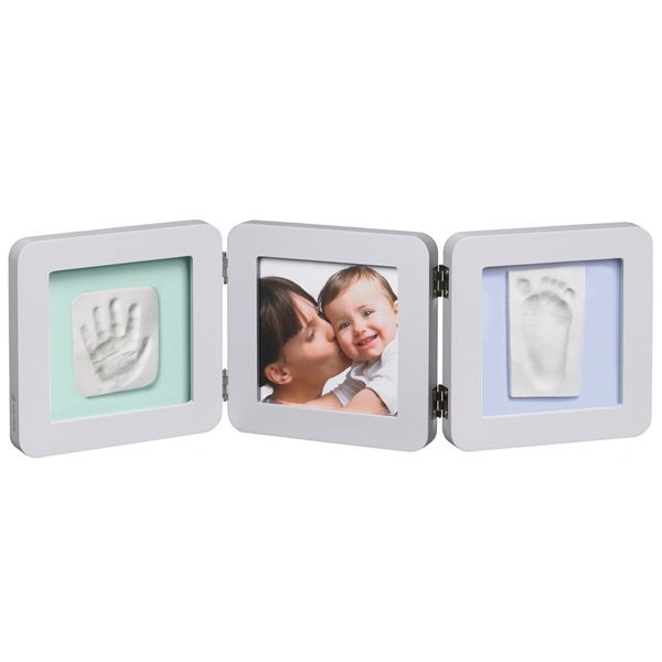 Picture of Baby Art Double Print Frame Pastel