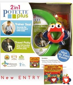 Εικόνα της Potette plus 2 σε 1 Γιο-γιο Ταξιδίου & ο κ. Πίτι