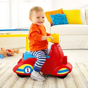 Picture of Fisher Price Εκπαιδευτικό Scooter Smart Stages #DHN78