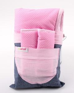 Εικόνα της Minene Κάλυμμα με Επωμίδες Φούξια/Ροζ