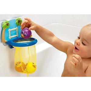Εικόνα της Munchkin Παιχνίδι Με Μπασκέτα Και Μπουγελόφατσες Για Το Παιδικό Μπάνιο