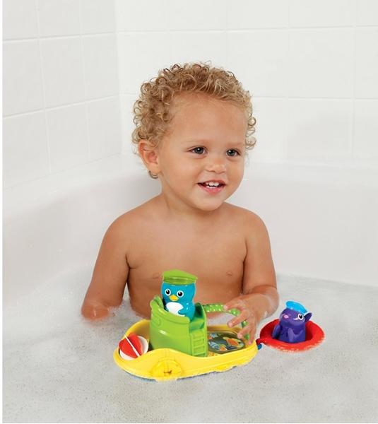 Picture of Munchkin Παιχνίδι Βάρκα Με Μπουγελόφατσες Για Το Παιδικό Μπάνιο