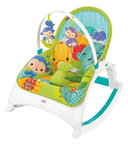 Εικόνα της Fisher Price Rainforest Friends Newborn To Toddler-Ριλάξ/Κούνια #CMR10