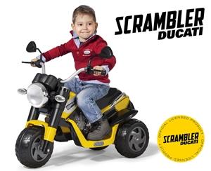 Εικόνα της Peg Perego Ηλεκτροκίνητο Ducati Scrabler