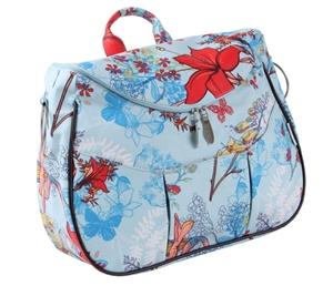 Εικόνα της Minene Τσάντα αλλαξιέρα Layla Flowers Blue