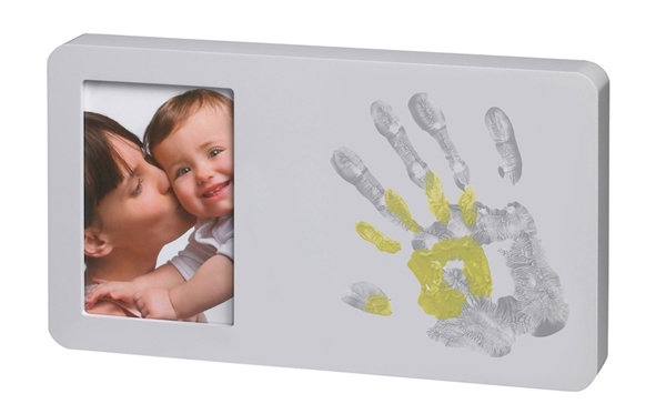 Picture of Baby Art Duo Paint Print Frame