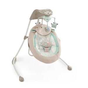 Εικόνα της Bright Starts InLighten 2-in-1 Cradling Swing - Lullaby Lamb™