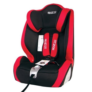 Εικόνα της Sparco Παιδικό κάθισμα αυτοκινήτου 9-36 kg. F1000K Red