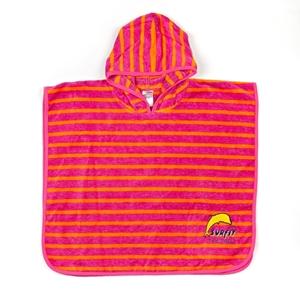 Εικόνα της Jakabel Πετσέτα πόντσο ροζ-πορτοκαλί UV προστασία
