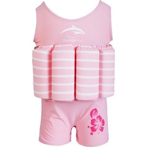 Εικόνα της Konfidence Μαγιώ σωσίβιο Float Suit Pink Stripe