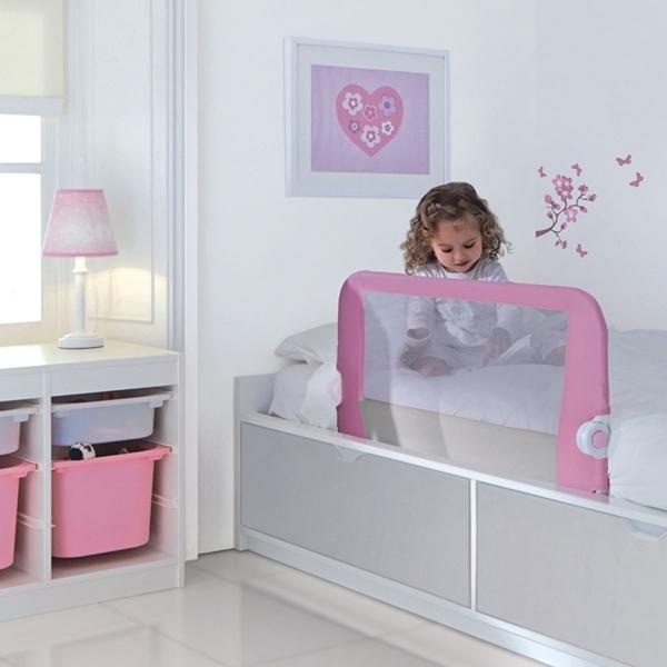Picture of Lindam Προστατευτικό Κάγκελο Κρεβατιού Ροζ