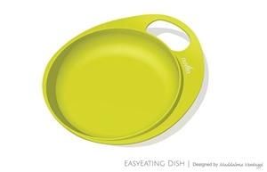 Εικόνα της Nuvita Πιάτο με Λαβή Λαχανί