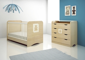 Εικόνα της CasaBaby Παιδικό Κρεβάτι Cube